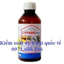 Thuốc diệt côn trùng Cypado 25Ec- Thuốc phun kho chất lượng cao