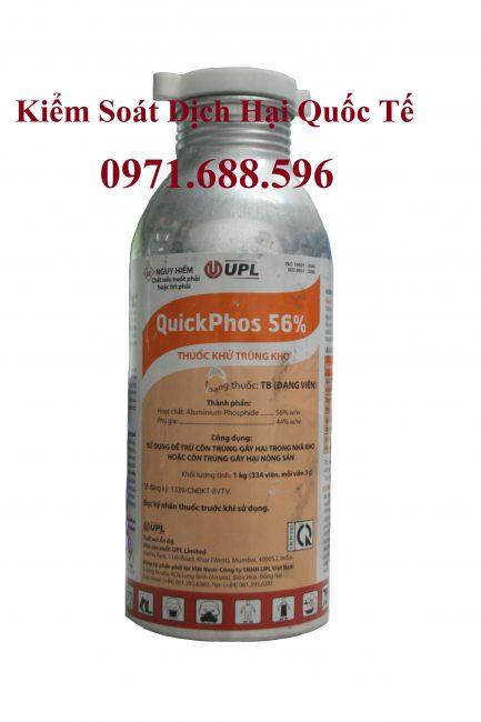Thuốc Quickphos 56%- Thuốc xông hơi khử trùng Ấn Độ dạng xá 1kg