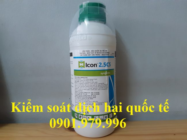 Thuốc diệt muỗi Icon 2,5CS- Thuốc diệt muỗi cao cấp an toàn.