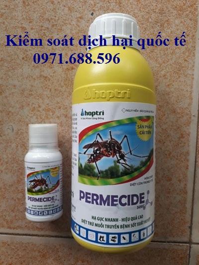 Thuốc phun côn trùng Permecide 50EC- Thuốc diệt côn trùng chính hãng