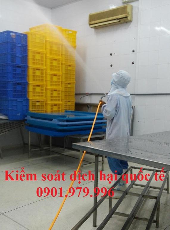 Dịch vụ phun khử trùng-diệt khuẩn . Phun diệt trừ phòng bệnh