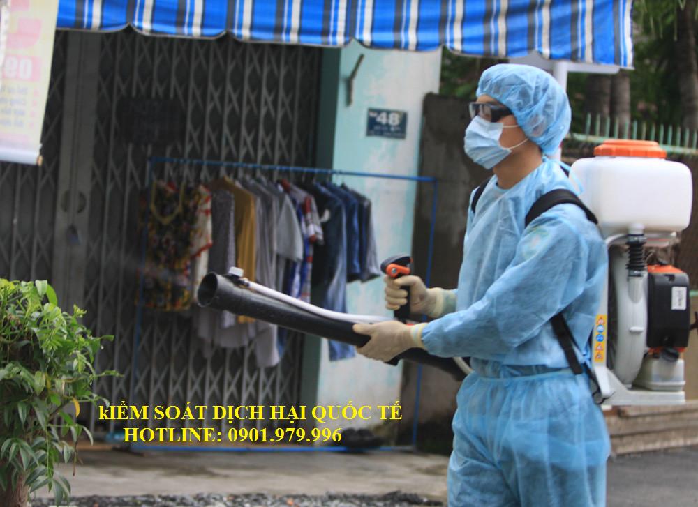 Dịch vụ kiểm soát côn trùng- Phun muỗi tại Hai Bà Trưng