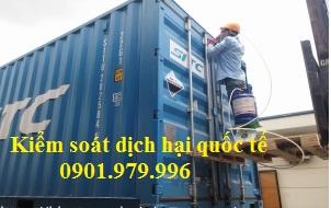 Khử trùng hàng xuất khẩu