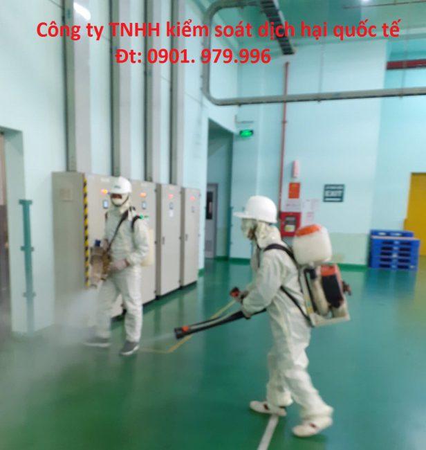 Dịch vụ phun thuốc khử trùng phòng virus Corona tại Lai Châu