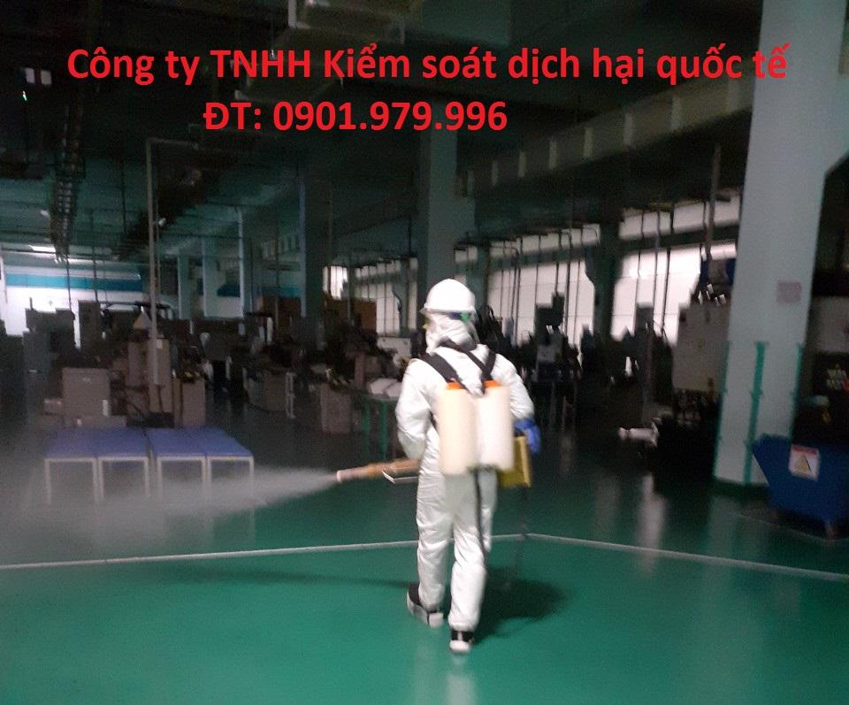 Dịch vụ phun thuốc khử trùng phòng virus Corona tại Sơn La